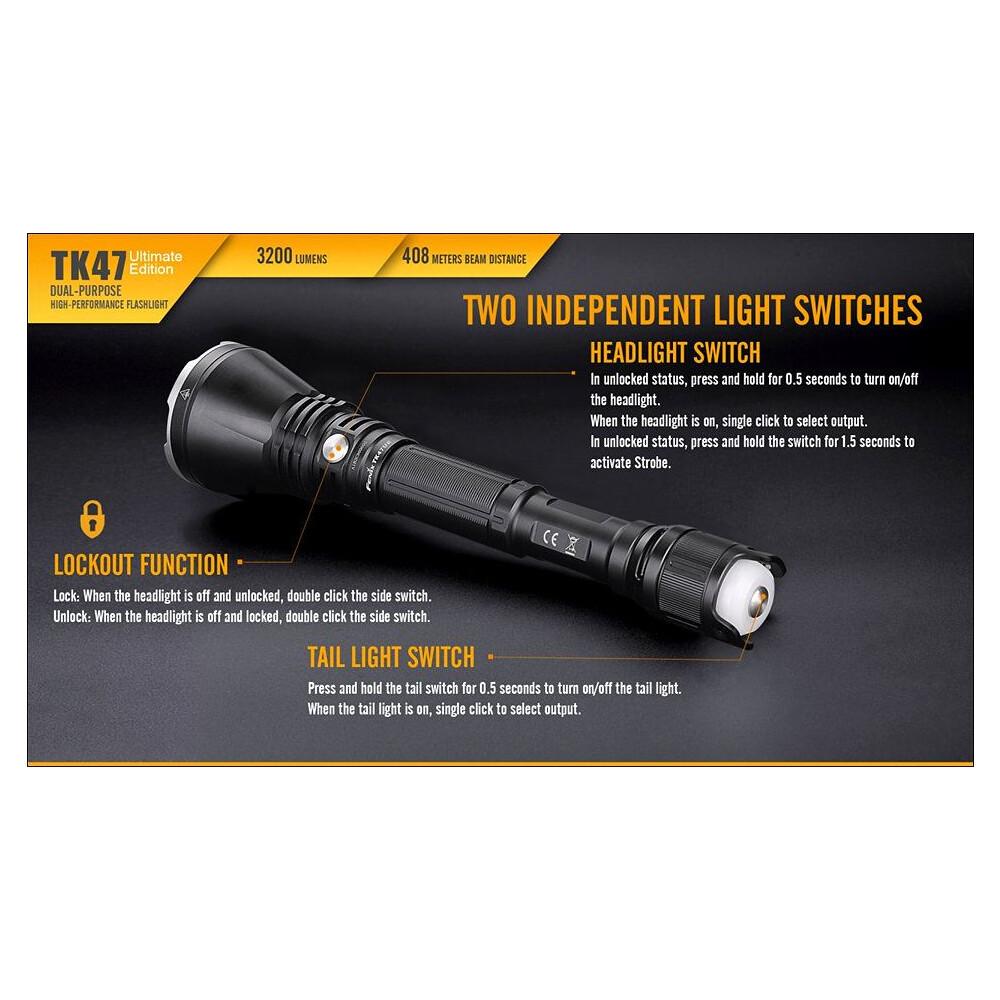 Fenix TK47 Ultimate Edition Torch 3200 Lumens Unknown