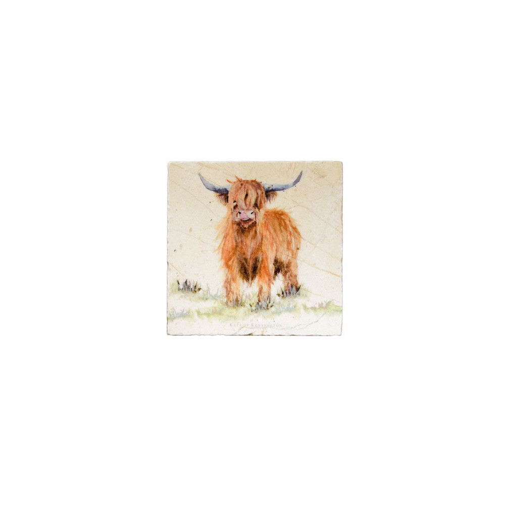 Kate Of Kensington Kate Of Kensington Medium Platter - Highland Cow