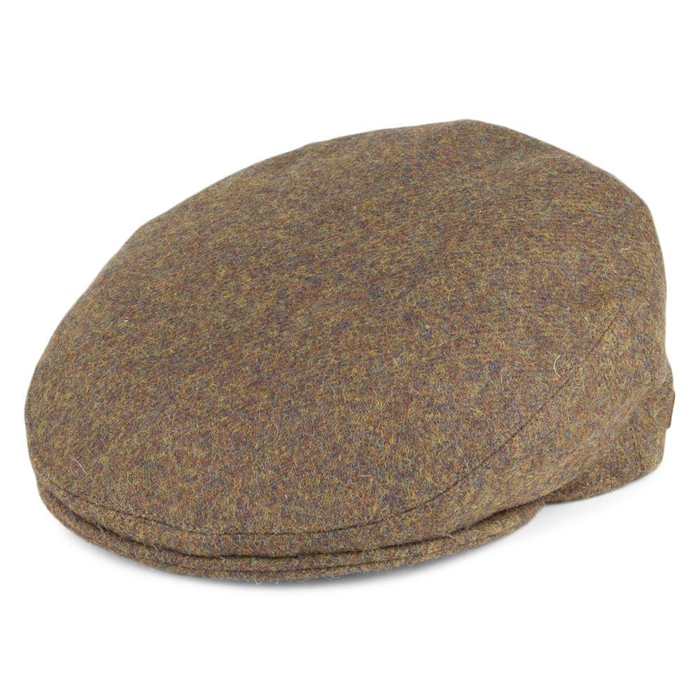 Olney Worcester Boiled Wool Cap Khaki