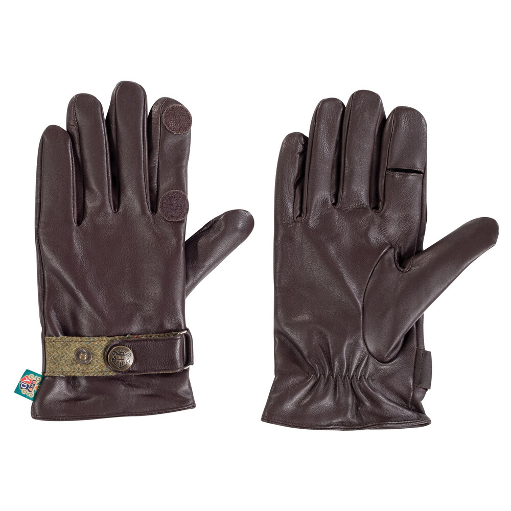 Alan Paine Alan Paine Mens Water Resistant Leather Gloves