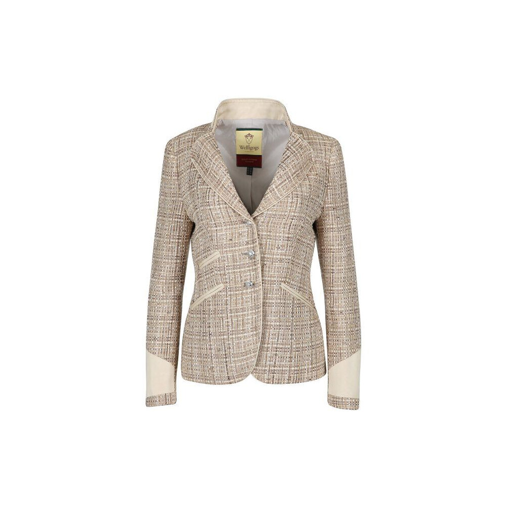 Welligogs Venice Pale Gold Fitted Jacket - Pale Gold
