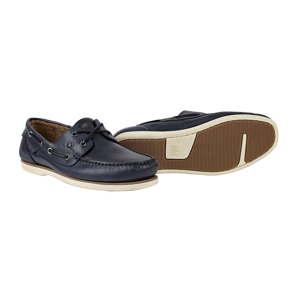 Chatham Newton Boat Shoe Navy