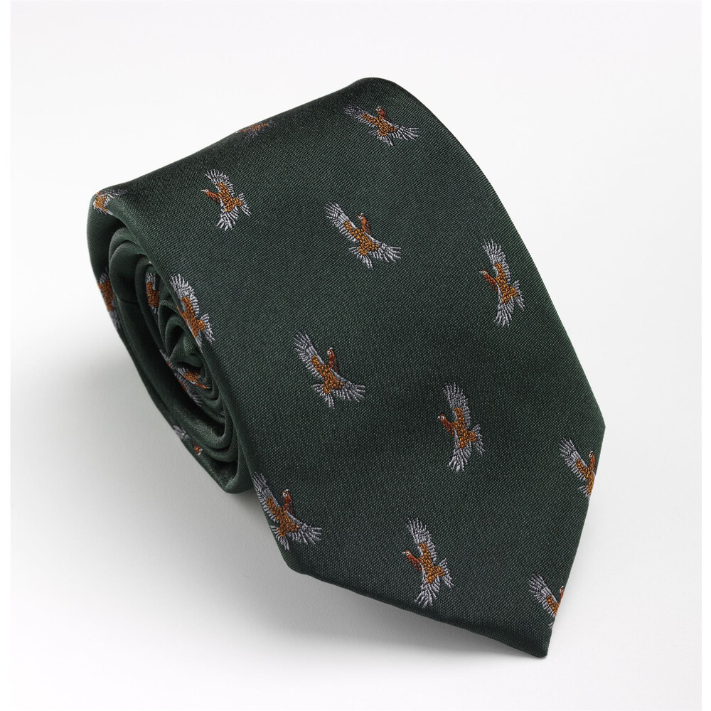 Laksen Laksen Glorious 12th Grouse Tie - Green