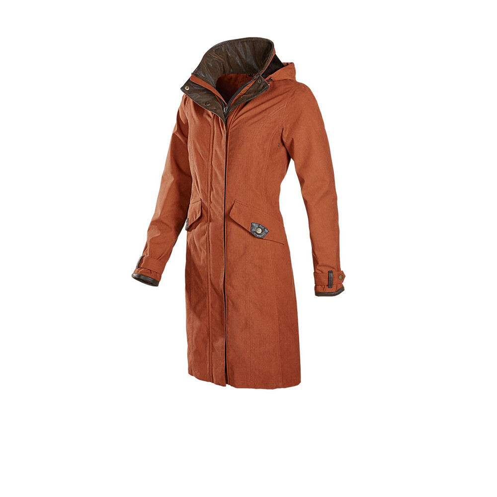Baleno Chelsea Ladies Coat Terracotta
