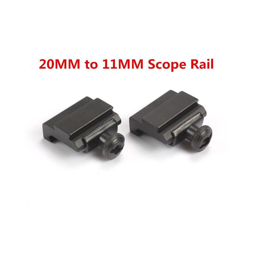 Allcocks Weaver To 11mm Dovetail Rail Adapter