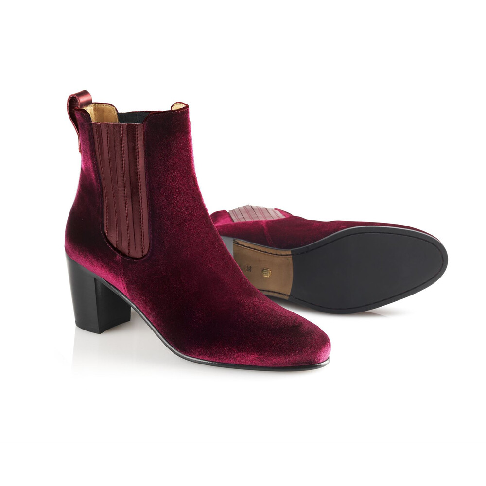 Fairfax & Favor Electra Boot Burgundy