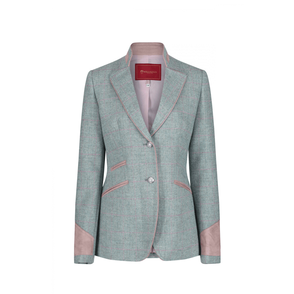 Welligogs Ascot Jacket - Mint Check Green