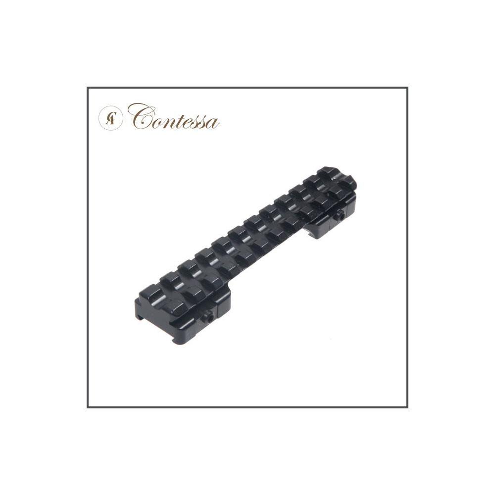 Contessa Sako 85 Picatinny Rail - 0 MOA Black