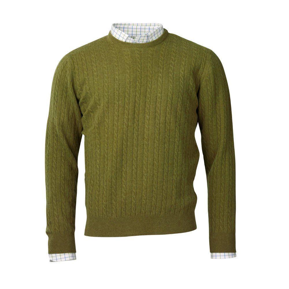 Laksen Laksen Evie Cable Knit Jumper - Moss