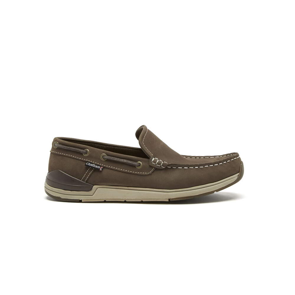 Chatham Barclay Slip On Shoe - Brown Brown