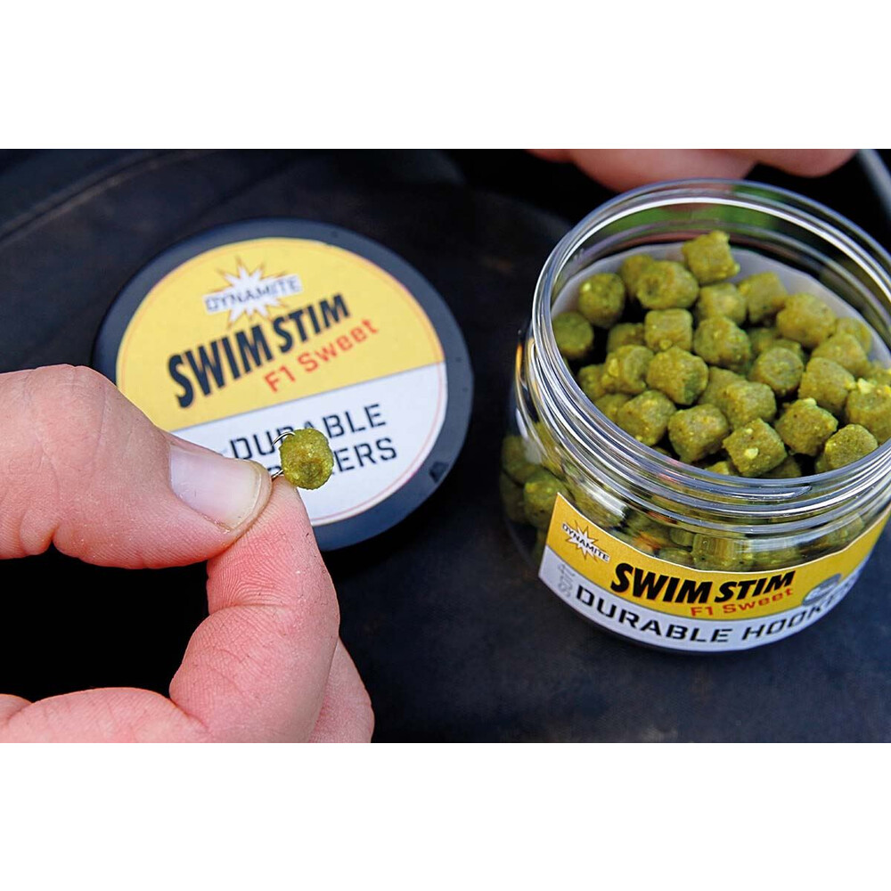 Dynamite Baits Swim Stim Durable Hookers -  Betaine Green Unknown