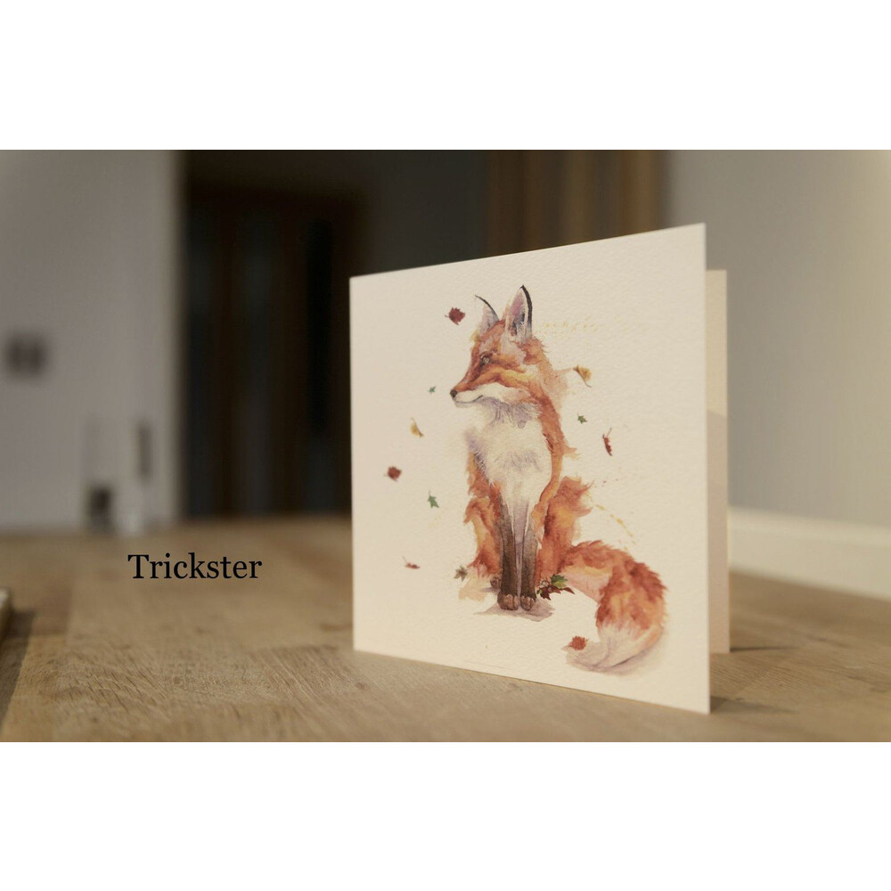 Kate Of Kensington Kate Of Kensington Greeting Cards - The Trickster