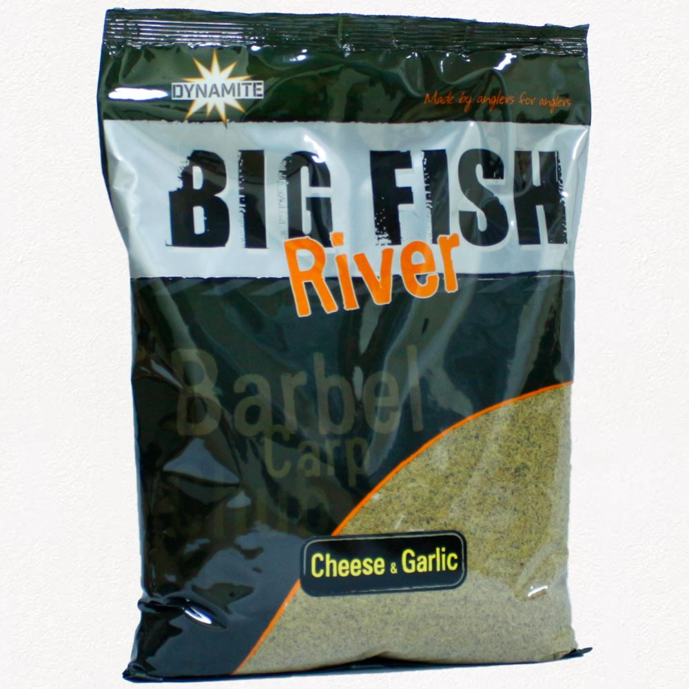 Dynamite Baits Big Fish River Groundbait - Cheese & Garlic
