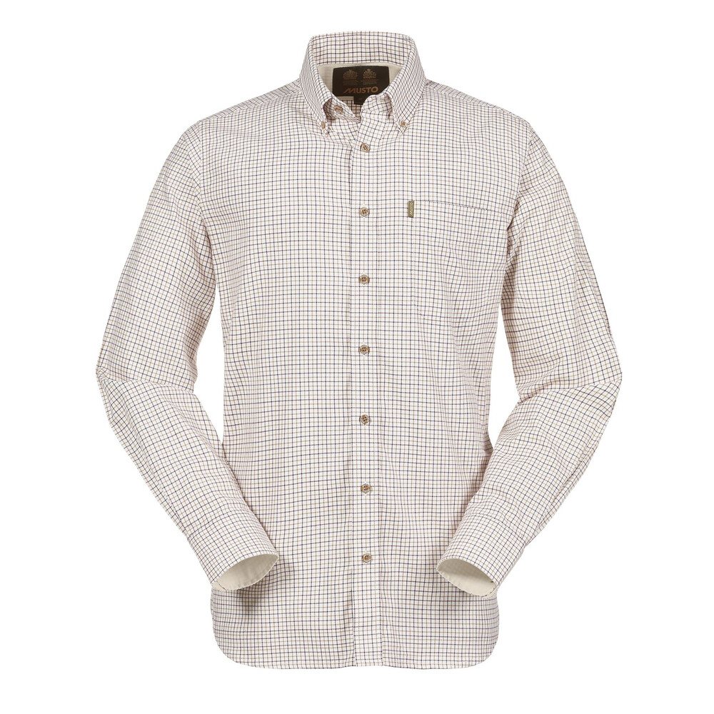Musto Classic Button Down Shirt - Gorse Multi