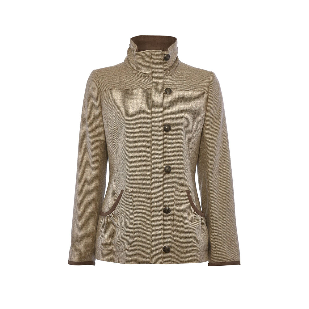Dubarry Bracken Tweed Jacket - Heath